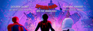Into The Spider-Verse Award Banner