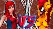 Mary Jane VS Scream Boss Battle MARVEL Spider-Man Unlimited