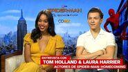 Entrevista con Tom Holland y Laura Harrier, actores de Spider-Man-Homecoming – IGN Latinoamérica