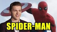 Tom Holland Spider-Man Interviews - Spider-Man Homecoming & Captain America Civil War