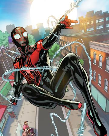Miles Morales Tierra 1610 Spider Man Wiki Fandom
