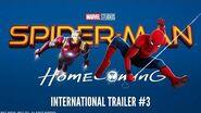SPIDER-MAN HOMECOMING - Trailer Internacional 3 (HD)