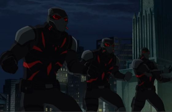 Spider-Soldiers (Earth-12041)