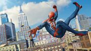 Spider-Man PS4 Preview Swing Day 1532954579