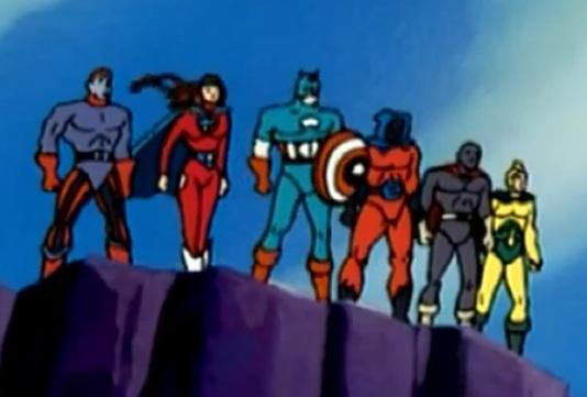 Six American Warriors (Earth-92131)
