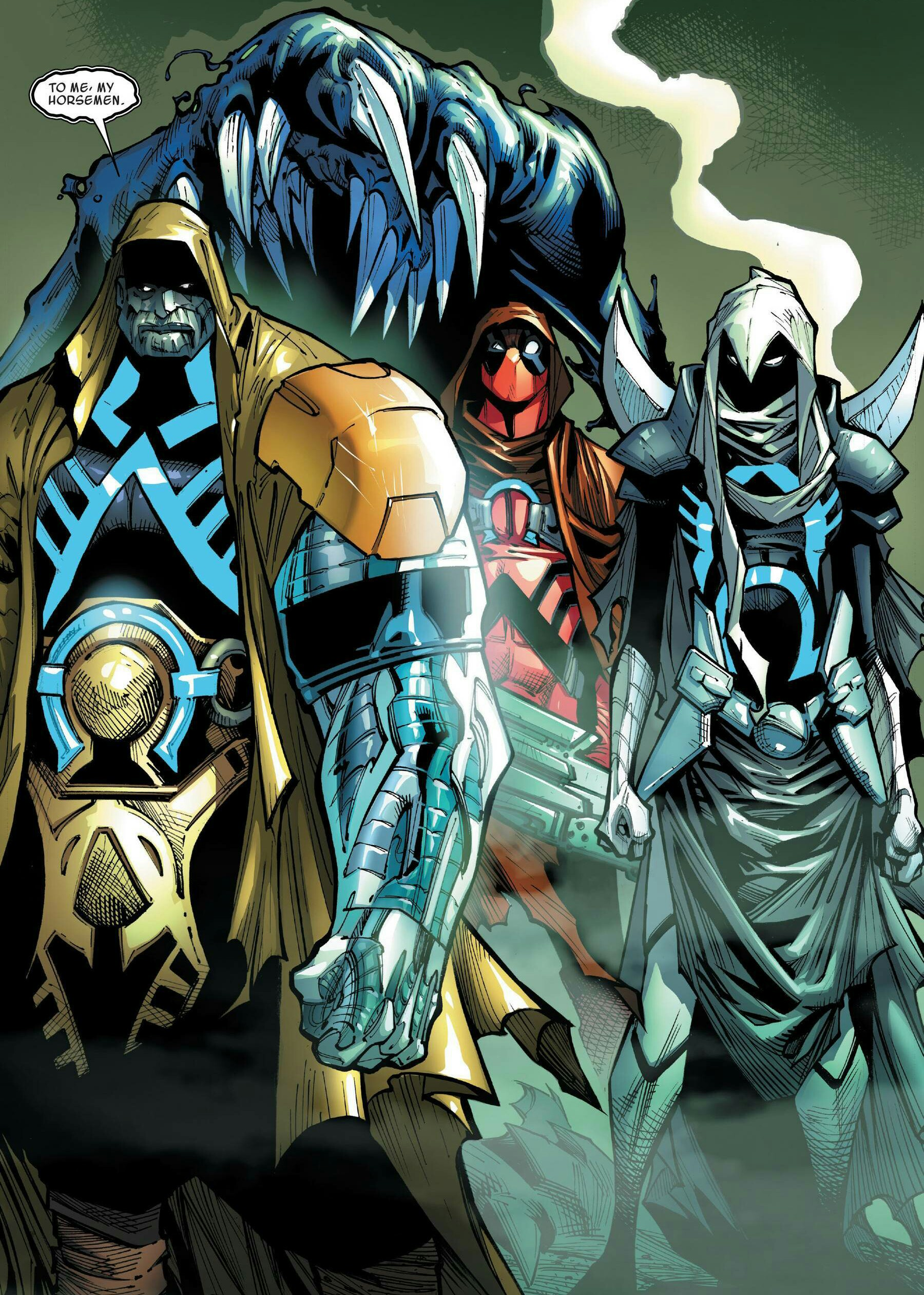Horsemen of Apocalypse (Earth-TRN574)