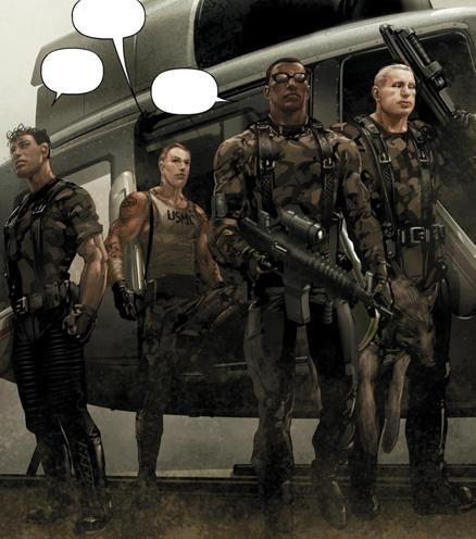 Mercury Team (Earth-616)