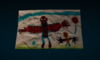 Backpacks - Spider-Man Thank You Drawing screen1