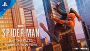 Marvel's Spider-Man – Just the Facts MARVEL'S NEW YORK PS4