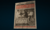 Newspaper Disorganized Crime from MSM screen