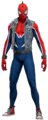 Spider-Punk Suit from MSM render