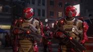 Roxxon guards