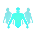Characters portal hover
