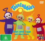 Teletubbies Boys and Eggs DVD
