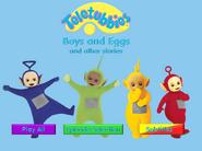 Teletubbies Boys and Eggs DVD Menu
