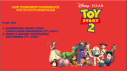 Toy Story 2 Lost Internship Recreations For Woody's Nightmare DVD Menu