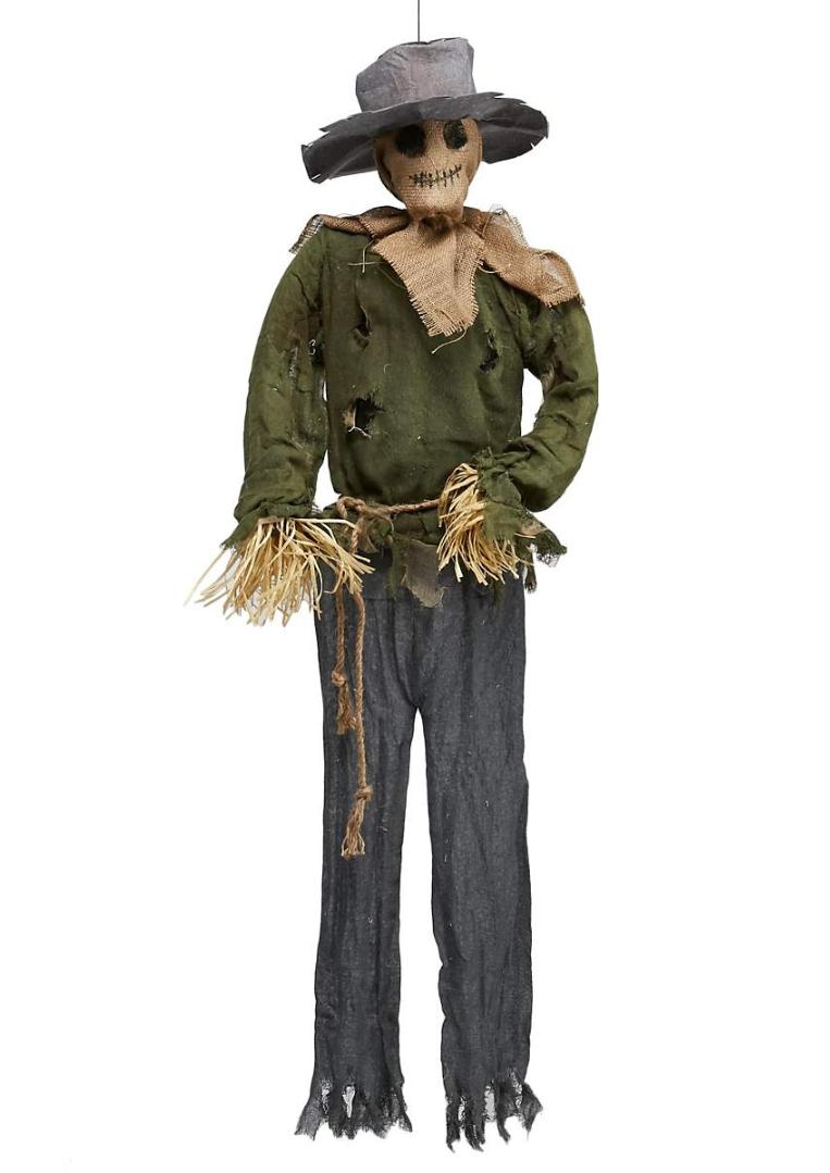 Spirit Halloween 2020 Scarecrow 5' Hanging Scarecrow   Spirit Halloween Wikia   Fandom