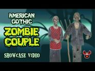 American Gothic Zombie Farmer and Wife — Spirit Halloween 2008 — Spooky Express
