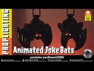 ANIMATED JOKE BATS TARGET Bat-A-Bing Bat-A-Boom Halloween & Lighting