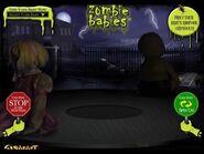 Spirit Halloween 2010 Zombie Baby Website