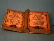 Animated Witch's Spell Book