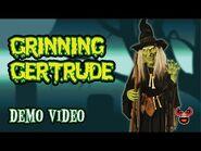 Grinning Gertrude — Spirit Halloween 2009 — Spooky Express
