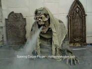 Spewing Corpse Fogger - HalloweenAsylum