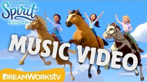 Unstoppable (Music Video) SPIRIT RIDING FREE