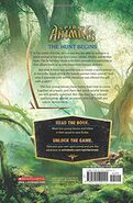 Hunted back cover
