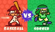Baseball vs. Soccer