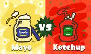 Mayonnaise vs Ketchup