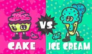 Cake vs Ice cream