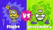 Flight vs Invisibility