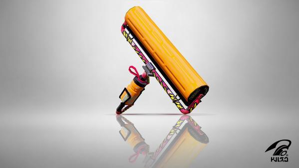 Carbon Roller Deco