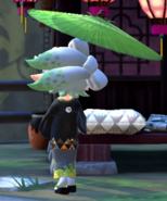 Marie Looking Back