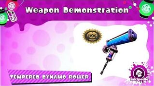 Tempered_Dynamo_Roller_~_Weapon_Demonstration_(Splatoon)