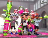 Pink team art