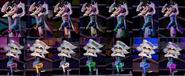 Squid Sisters Splatfest Colors
