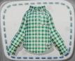 Green-Check Shirt