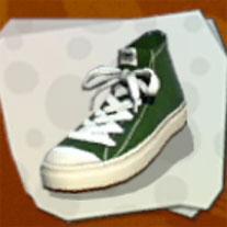 Dark Green Hi-tops