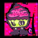 S2 Splatfest Icon Cake