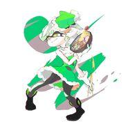 Green Tanuki Marie Second