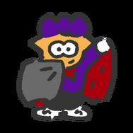 S2 Splatfest Icon Vampire