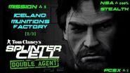Splinter Cell Double Agent PS2 PCSX2 HD NSA – Миссия 1 Исландия – Фабрика боеприпасов (2 3)