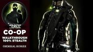 Splinter Cell 3 Chaos Theory Coop PS2 PCSX2 HD Прохождение – Миссия 2 Химсклад