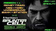 Splinter Cell Double Agent PS2 PCSX2 HD JBA – Миссия 4 Поезд