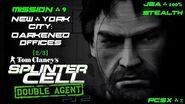 Splinter Cell Double Agent PS2 PCSX2 HD JBA – Миссия 9 Нью-Йорк – Темные офисы (2 3)