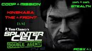 Splinter Cell Double Agent Coop PS2 PCSX2 HD Прохождение – Миссия 3 Киншаса – Фасад Фронт (1 4)