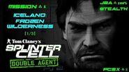 Splinter Cell Double Agent PS2 PCSX2 HD JBA – Миссия 1 Исландия – Заснеженная пустошь (1 3)