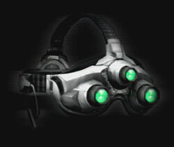 Ultra High-Frequency Sonar Goggles as seen in Splinter Cell: Conviction